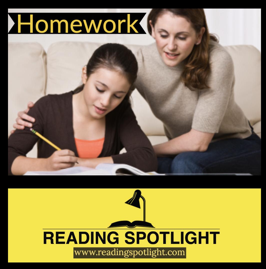 Parents Should Guide Homework