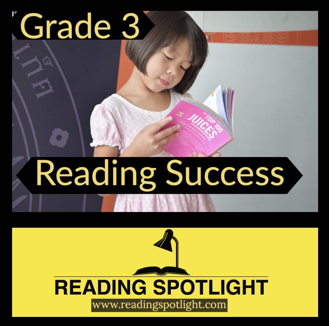 How to Succeed in Grade 3 Reading