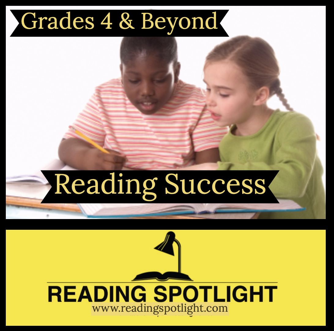Reading Success in Grades 4-10