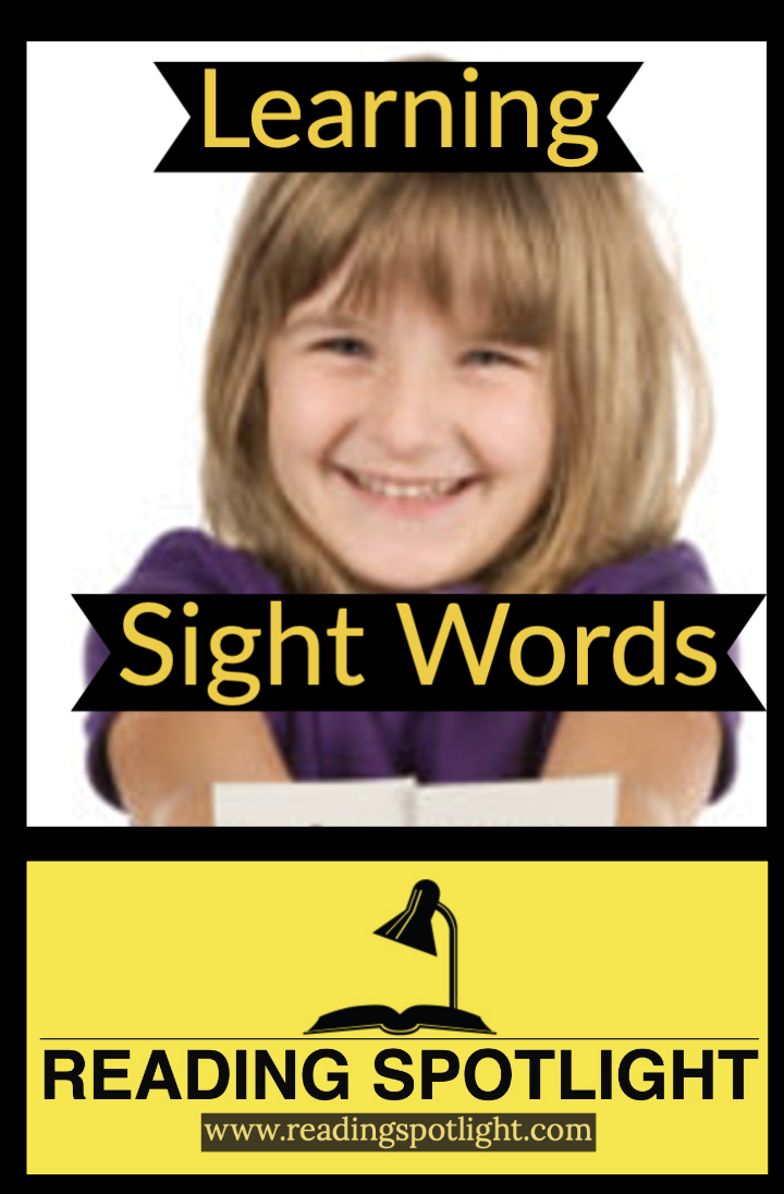 How to Learn Irregular Sight Words