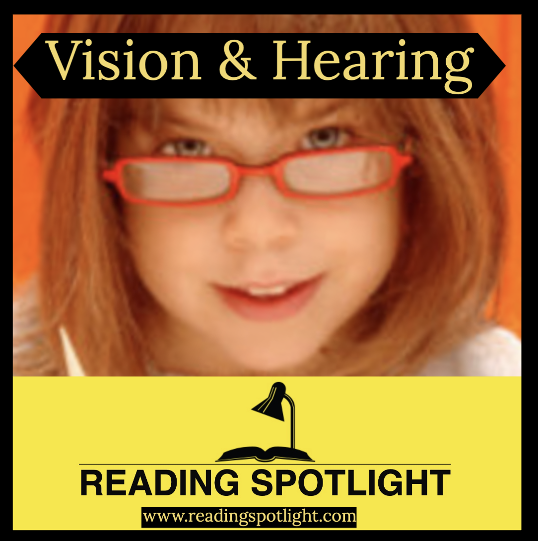 How Do Vision and Hearing Affect Learning to Read