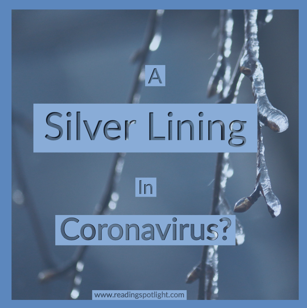 Is there a small, silver lining in the coronavirus pandemic?