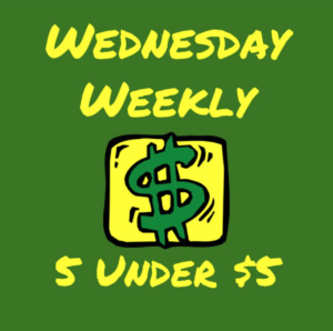 Weekly Wednesday Bargains
